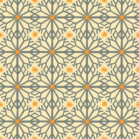 Christmas decor ornament, seamless pattern, vector Illustration