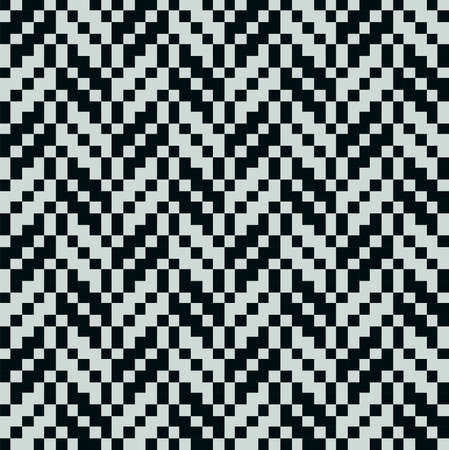 moder: Leaf abstract seamless pattern, pixel background, vector Illustration