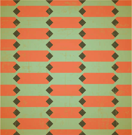 moder: Old style geometrical seamless pattern, 70s background, vector
