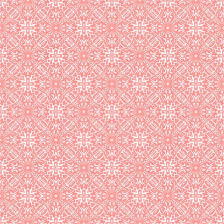 beautiful flowers: Doily seamless pattern, vector Illustration