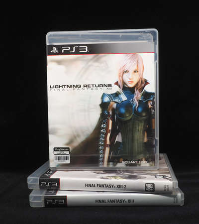 Playstation 3 Blu-Ray Disc : Final Fantasy 13 Collection Editorial