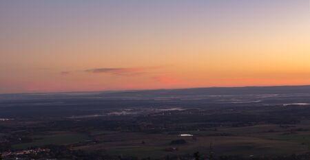 Nice lookout from Kravi mountain, Czech republic
