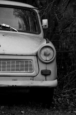 headlight: Detail Headlight old car Stock Photo