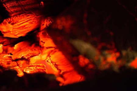 hot wood