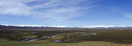 sichuan: Sichuan western plateau wetland Stock Photo