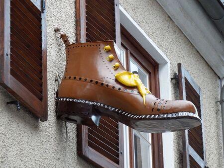 guild: Guild sign - boom shoemaker