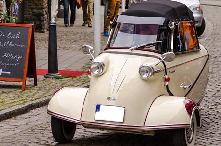 fend: Prodotto dalla societ� Messerschmitt Designer del veicolo era l'ingegnere Fritz Fend