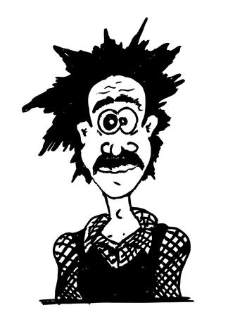 schwarz: Silhouette Mann Comic