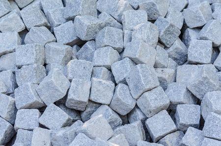 Cube sandstones Stock Photo