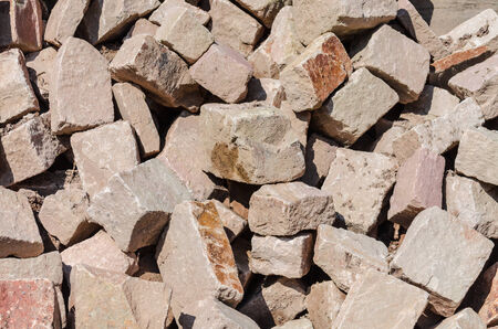 substantiate: Storage space of various sandstone, natural stone, quarry stone varieties and species