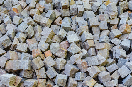 Storage space of various sandstone, natural stone, quarry stone and bulk varieties and species