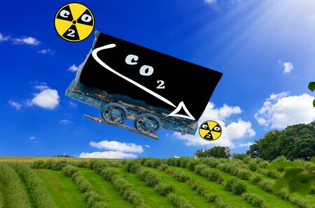 co: Reduce CO 2 emissions. Carbon dioxide is the main cause of global warming.