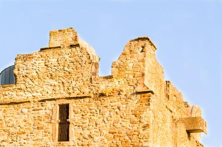 ruhr: Burgaltendorf, ruins of castle Altendorf in Essen, Ruhr area, North Rhine-Westphalia, Germany. Stock Photo