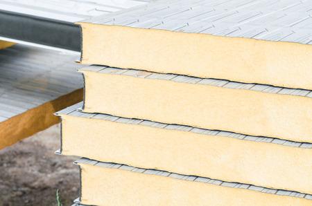 断熱と建物の近代化のための絶縁材。