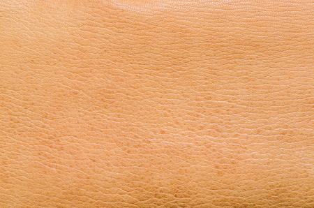 leather texture: Natural brown leather. Animal skin Stretched. As a background.