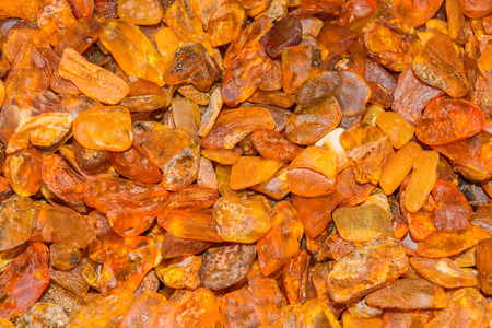 esoterismo: Ambers recogido en el Mar Báltico, Alemania Playa Foto de archivo