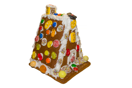 manufactured: Manufactured Hexenhaus made of gingerbread