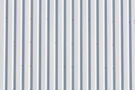 metal wall: Background, metal wall Riffelblech silvery. Stock Photo