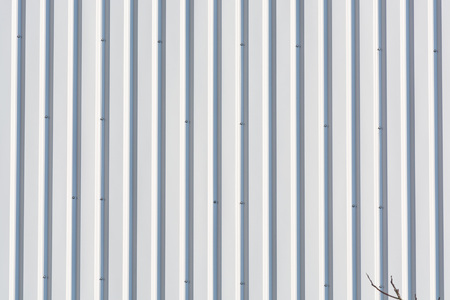 Steel Roof Metal Texture In Gray And Rust Colors Stock Photo ...