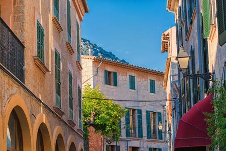 Atmosphere in the idyllic village of Valldemossa on Mallorca in Spain.