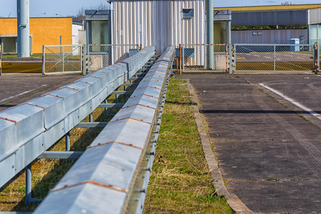 conveyors: Historic border crossing museum between West and East Germany in Saxony-Anhalt.