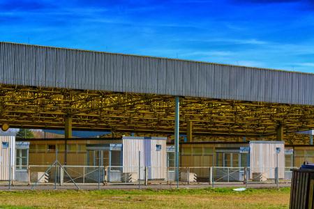 Historisches Grenzmuseum zwischen West- und Ostdeutschland in Sachsen-Anhalt. Standard-Bild - 80893581