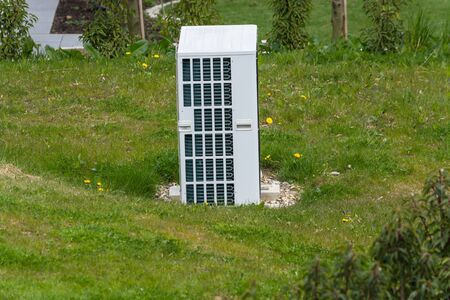 Heat pumps with integrated and sustainable HVAC system Stock fotó