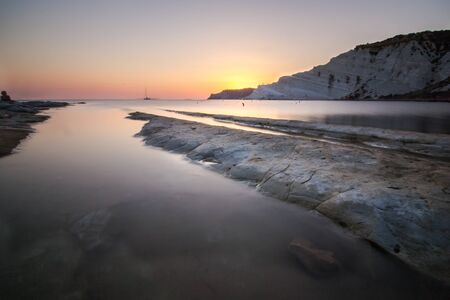 the turks:  The beautiful beach of Scala dei Turchi in sicily.