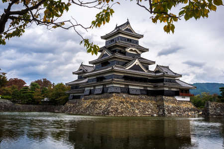 matsumoto: Matsumoto, Japan, October 23, 2011 - Completed in 1614, Matsumoto Castle, located in Matsumoto city, Nagano Prefecture, Japan, is considered as one of Japan Editorial