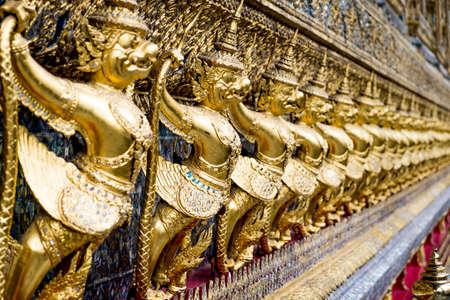the grand palace: Guardian Garudas of Bangkok Grand Palace, Thailand.