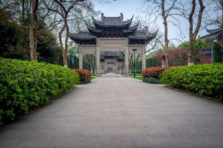 Traditional Chinese gateways. photo