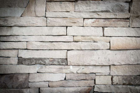 schist: Stacked stone wall, background and texture. Stock Photo