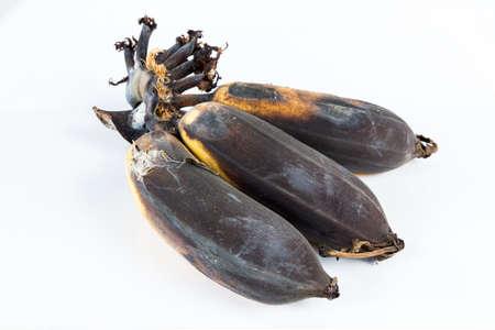 overripe: Leftover and overripe bananas.