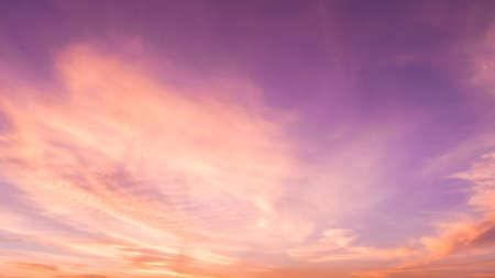 sunsets: Colorful sunset sky. Stock Photo