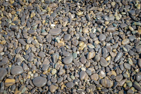 Natural beach stone for background.