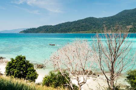 Gorgeous seascape of Lipe Island, Thailand. Stock fotó