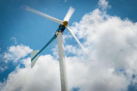Wind turbine eco farm system, an alternative clean energy.