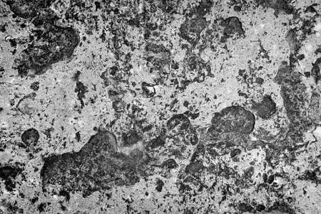 Abstract rugged concrete texture in black and white. photo