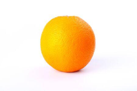 orange close up on a white background.high vitamin citrus. Stock Photo