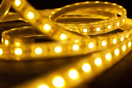 luminous diode strips.LED decorative lighting for home, offices.