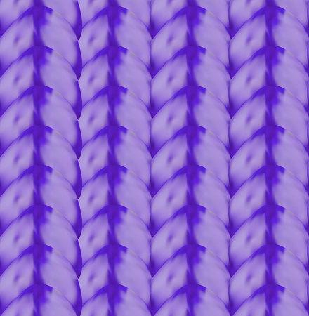 VECTOR gebreide textuur naadloze patroon sjabloon, paarse textuur