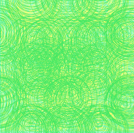 Abstract thread background. Seamless texture. Green