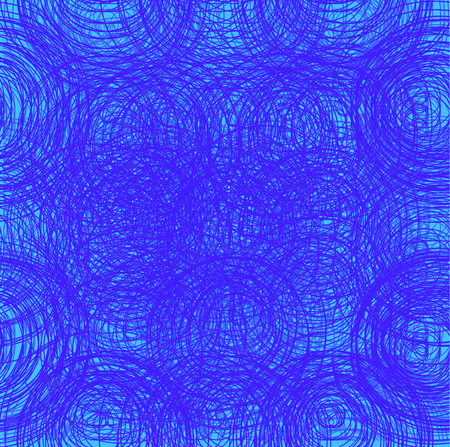 Abstract thread background. Seamless texture. Blue threads