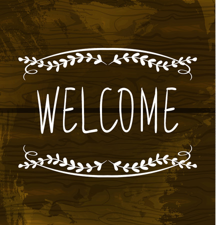 welcome card templates royalty free cliparts vectors and stock