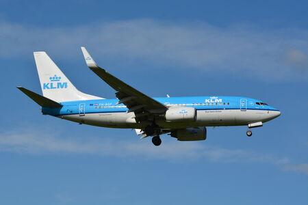 msn: KLM Boeing 737 Next Gen  MSN 38127  PH-BGP Editorial