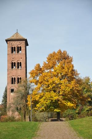 monastic sites: Historical Abbey Site Hirsau