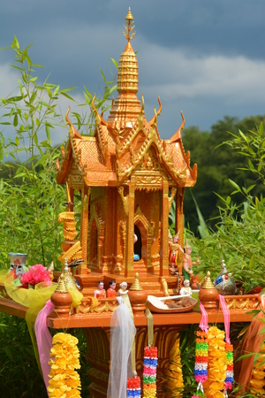 revere: Spirit House  San Phra Phum