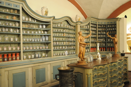 apothecary: Old Pharmacy