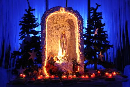 sanctified: Madonna Statue