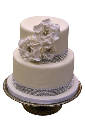 cake tier: White Wedding Cake